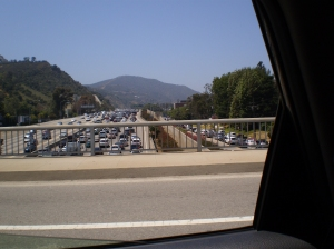 Traffic Jam on the 405
